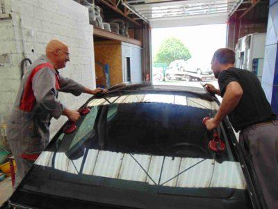 Garage automobile Ducey à Ducey - Pare-brise