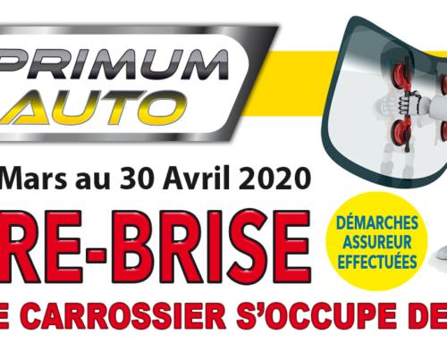 Promotion Pare-brise Primum auto