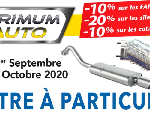 Promotion FAP Primum Auto