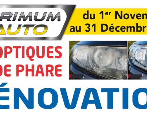 Promotion Rénovation Optiques Primum