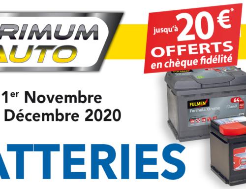Promotion Batterie Primum Auto